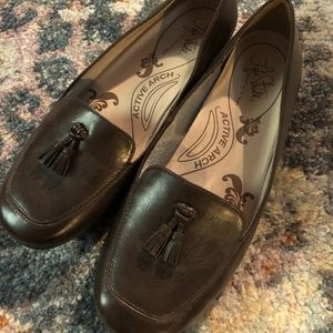 Life Stride brown Loafers